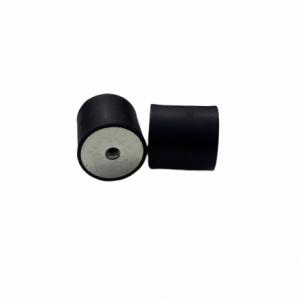 PODUSZKA GUMOWO METALOWA Fi50*H50 bez śrub, 2 gwinty wewnętrzne M10