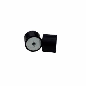 Poduszka gumowa metalowa Fi45*H35 bez śrub, 2 gwinty wewnętrzne M8